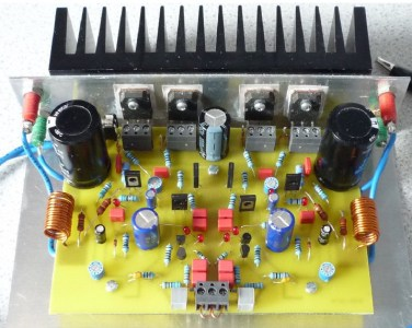70W Mosfet Amplifier