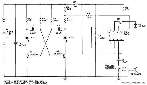sound generator circuit electronic