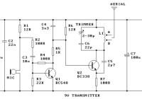 9V FM Transmitter Circuit Electronic