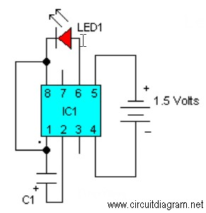 LED Flasher Circuit Electronic