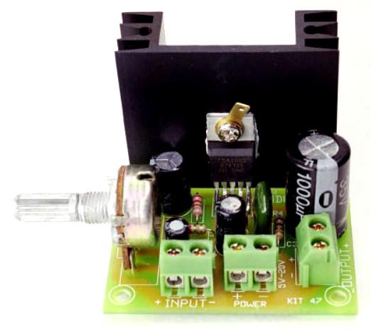 Power Amplifier TDA2002