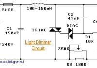 220V Light Dimmer Circuit Electronic