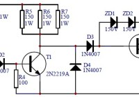 Electronic Transistor Ignition Circuit For Cars