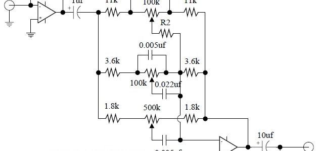 Basic Tone Control Circuit Electronic