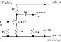 guitar preamp circuit