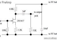 guitar preamp circuit
