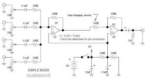 Mixer Archives  Electronic Circuit Diagram