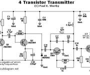 4 Transistors FM Transmitter
