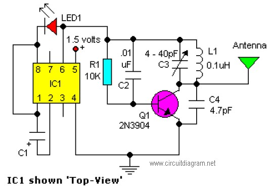circuit diagram of phone charger 4 pin trailer connector wiring easy fm tracking transmitter - schematic design