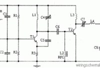 4 Watts FM transmitter Circuit Diagram