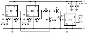 car horn circuit diagram