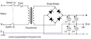 Symmetrical Dual Polarity Power Supply Circuit