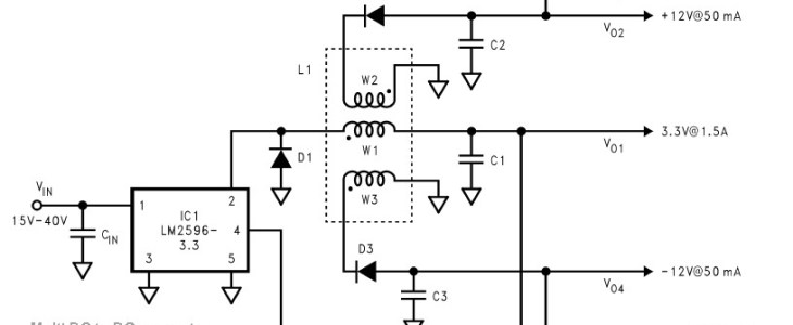 Multi DC to DC converter