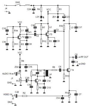 AudioVideo to UHF TV Signal Converter (Modulator
