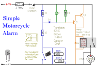 easy build motocycle alarm