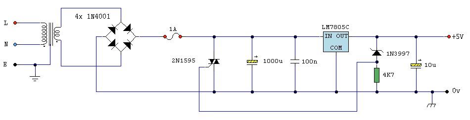 circuit diagram zener diode