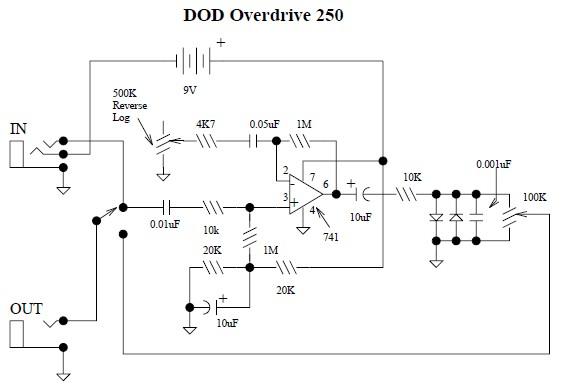 Dod 250 Wiring Diagram - Schema Wiring Diagram Dan Armstrong Wiring Diagram on