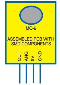 MQ-6 Gas Leakage Sensor Device
