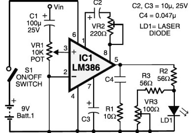 Led Related Electronic Circuit Diagrams Circuit Schematics