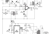 Automatic Switching-on Emergency Light Circuit
