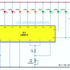 Circuit Diagram Of Phone Charger Outside Cable Box Wiring Simple Battery Level Indicator - Schematic Design