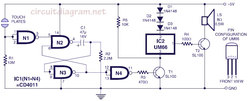 Motor Circuit Switch And Battery Light