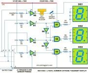 Water Level Indicator using 7 Segment LED