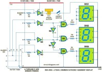 water level indicator circuit electronic