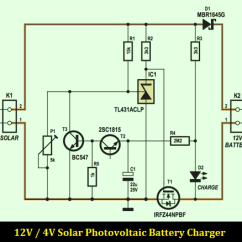 Circuit Diagram Of Phone Charger 1999 Ford F350 Headlight Wiring 12v 4a Solar Photovoltaic Battery - Schematic Design