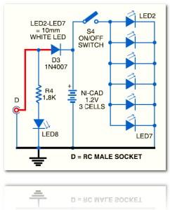 Small LED Lamp circuit