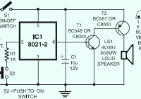 Ding-dong Doorbell Circuit Design