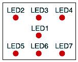 LED arrangement