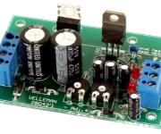 Adjustable Symmetric 1 to 24VDC, 1A Power Supply