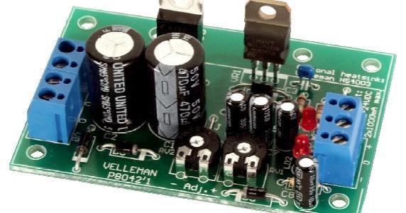Adjustable Symmetric Power Supply Kit