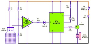 Notebook Protector Circuit