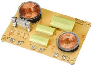 2 Way Passive Speaker Crossover Circuit