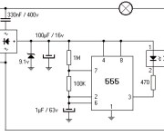 220V 800W Lamp Flasher