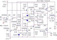 70 Watt OCL Power Amplifier Circuit