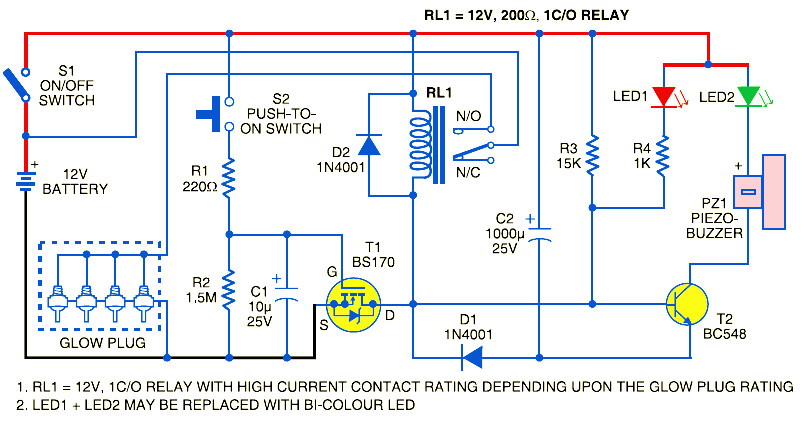 simple electric guitar wiring diagram sbc glow plug control module - schematic design