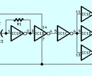 Sine Wave to Square Wave Converter