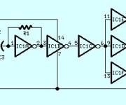 Sine Wave to Square Wave Converter