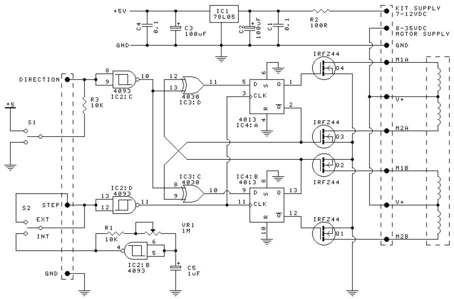 Image Result For Skema Stepper Power Amplifier