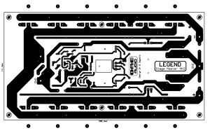 500W RMS Power Amplifier PCB Design
