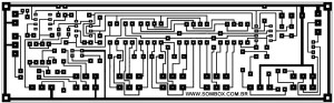 PCB Layout Design of Stereo Tone Control with Microphone Preamplifier