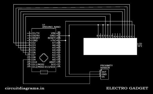digital tachometer using arduino