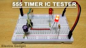 555 timer testing circuit