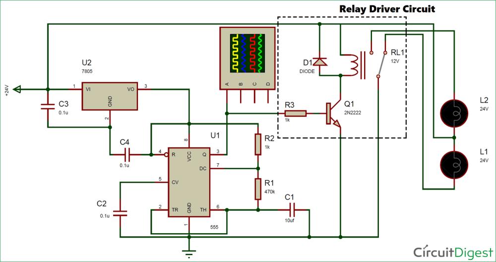 medium resolution of 24v flasher circuit diagram