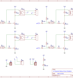 4 channel relay driver circuit diagram on pcb 4 channel relay driver module circuit diagram [ 1337 x 943 Pixel ]