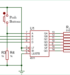 driving a 7 segment display using a bcd to 7 segment driver ic cd4511 7 segment display schematic diagram 7 segment circuit diagram [ 1478 x 776 Pixel ]