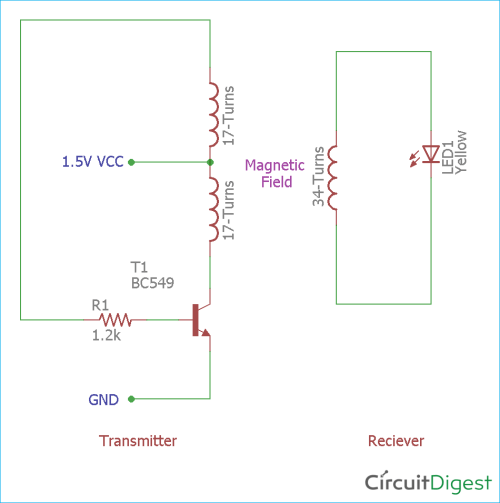 small resolution of simple wireless power transmission circuit diagram